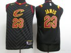 Cheap Youth Nike Cavaliers #23 LeBron James Black Stitched NBA Swingman Jersey