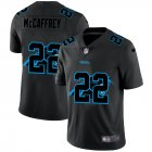 Cheap Carolina Panthers #22 Christian McCaffrey Men's Nike Team Logo Dual Overlap Limited NFL Jersey Black
