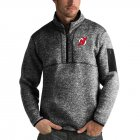Cheap New Jersey Devils Antigua Fortune Quarter-Zip Pullover Jacket Charcoal