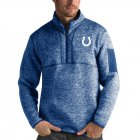 Cheap Indianapolis Colts Antigua Fortune Quarter-Zip Pullover Jacket Heather Royal