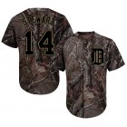 Cheap Tigers #14 Christin Stewart Camo Realtree Collection Cool Base Stitched Youth MLB Jersey