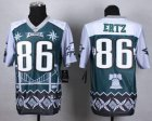 Cheap Nike Eagles #86 Zach Ertz Midnight Green Men's Stitched NFL Elite Noble Fashion Jersey
