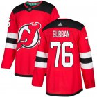 Cheap Adidas Devils #76 P.K. Subban Red Home Authentic Stitched NHL Jersey