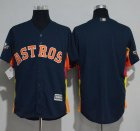 Cheap Astros Blank Navy Blue New Cool Base 2019 World Series Bound Stitched MLB Jersey