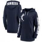 Cheap New York Yankees G-III 4Her by Carl Banks Women's 12th Inning Pullover Hoodie Navy