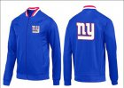 Cheap NFL New York Giants Team Logo Jacket Blue_1