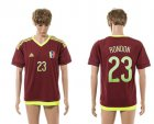 Cheap Venezuela #23 Rondon Home Soccer Country Jersey