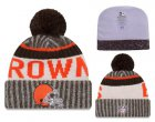 Cheap NFL Cleverland Browns Logo Stitched Knit Beanies 001