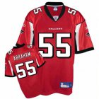 Cheap Falcons #55 John Abraham Red Stitched NFL Jersey