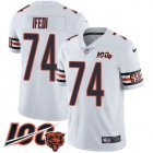 Cheap Nike Bears #74 Germain Ifedi White Youth Stitched NFL 100th Season Vapor Untouchable Limited Jersey