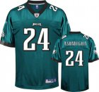 Cheap Eagles #24 Nnamdi Asomugha Green Stitched NFL Jersey