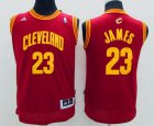 Cheap Youth Cleveland Cavaliers #23 LeBron James Red Jersey