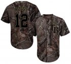 Cheap Rays #12 Wade Boggs Camo Realtree Collection Cool Base Stitched Youth MLB Jersey