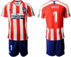 Cheap Atletico Madrid #1 Moya Home Soccer Club Jersey