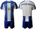 Cheap Oporto Blank Home Soccer Club Jersey