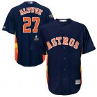 Cheap Astros #27 Jose Altuve Navy Blue New Cool Base 2019 World Series Bound Stitched MLB Jersey