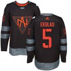 Cheap Team North America #5 Aaron Ekblad Black 2016 World Cup Stitched NHL Jersey