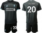 Cheap Liverpool #20 Lallana Third Soccer Club Jersey