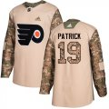 Cheap Adidas Flyers #19 Nolan Patrick Camo Authentic 2017 Veterans Day Stitched Youth NHL Jersey