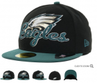 Cheap Philadelphia Eagles fitted hats 05