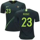 Cheap Australia #23 Rogic Away Soccer Country Jersey