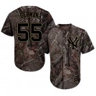 Cheap Yankees #55 Domingo German Camo Realtree Collection Cool Base Stitched Youth MLB Jersey