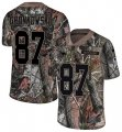 Cheap Nike Patriots #87 Rob Gronkowski Camo Men's Stitched NFL Limited Rush Realtree Jersey