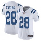 Cheap Nike Colts #28 Jonathan Taylor White Women's Stitched NFL Vapor Untouchable Limited Jersey