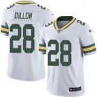 Cheap Nike Packers #28 AJ Dillon White Youth Stitched NFL Vapor Untouchable Limited Jersey