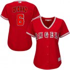 Cheap Angels #6 Anthony Rendon Red Alternate Women's Stitched MLB Jersey