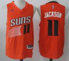 Cheap Men's 2017 Draft Phoenix Suns #11 Josh Jackson Orange Stitched NBA adidas Revolution 30 Swingman Jersey