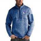 Cheap New York Rangers Antigua Fortune Quarter-Zip Pullover Jacket Blue