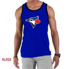 Cheap Men's Nike Toronto Blue Jays Sideline Legend Authentic Logo Tank Top Blue
