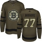 Cheap Adidas Bruins #77 Ray Bourque Green Salute to Service Youth Stitched NHL Jersey