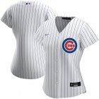 Cheap Chicago Cubs Nike Women's Home 2020 MLB Team Jersey White