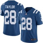 Cheap Nike Colts #28 Jonathan Taylor Royal Blue Team Color Youth Stitched NFL Vapor Untouchable Limited Jersey