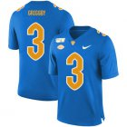 Cheap Pittsburgh Panthers 3 Nicholas Grigsby Blue 150th Anniversary Patch Nike College Football Jersey