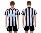 Cheap Newcastle Blank Home Soccer Club Jersey