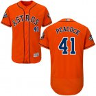 Cheap Astros #41 Brad Peacock Orange Flexbase Authentic Collection 2019 World Series Bound Stitched MLB Jersey