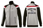 Cheap NFL Denver Broncos Heart Jacket Grey