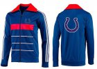Cheap NFL Indianapolis Colts Team Logo Jacket Blue_4