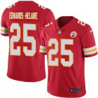 Cheap Nike Chiefs #25 Clyde Edwards-Helaire Red Team Color Youth Stitched NFL Vapor Untouchable Limited Jersey