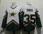 Cheap Men's Dallas Stars #35 MARTY TURCO 2003 CCM Throwback Home NHL Jersey