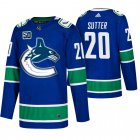 Cheap Men's Vancouver Canucks #20 Brandon Sutter Adidas Blue 2019-20 Home Authentic NHL Jersey
