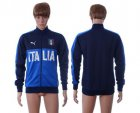 Cheap Italy Home Soccer Jackets Blue