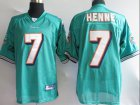 Cheap Dolphins #7 Chad Henne Green Stitched NFL Jersey