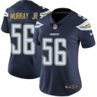 Cheap Nike Chargers #56 Kenneth Murray Jr Navy Blue Team Color Women's Stitched NFL Vapor Untouchable Limited Jersey