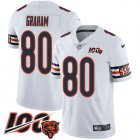 Cheap Nike Bears #80 Jimmy Graham White Youth Stitched NFL 100th Season Vapor Untouchable Limited Jersey