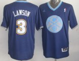 Cheap Denver Nuggets #3 Ty Lawson Revolution 30 Swingman 2013 Christmas Day Navy Blue Jersey