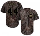Cheap Reds #44 Aristides Aquino Camo Realtree Collection Cool Base Stitched MLB Jersey